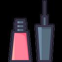 Eyeliner Brush Lady Icon