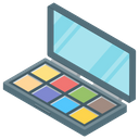 Makeup Eye Color Eyeshadow Palette Icon