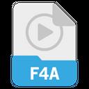 F4A file Icon