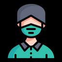 Face Mask Medical Mask User Icon