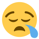 Face Sleep Emoji Icon