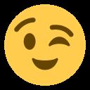 Face Wink Emoji Icon