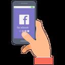Social Media Facebook Mobile App Icon