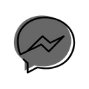 Facebook Messanger Messanger Communication Icon