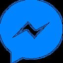 Facebook Messenger Social Media Logo Icon