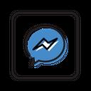 Facebook Messenger Social Media Chat Icon