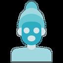 Alternative Medicine Facemask Treatment Icon