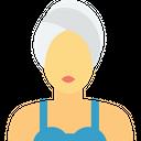 Women Facial Treatment Beauty Care Icon