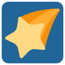 Falling Star Comet Icon