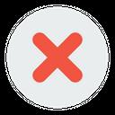 False Delete Remove Icon