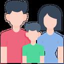 Family Happy Woman Icon