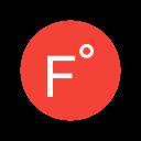 Farenheit Degree Forecast Icon
