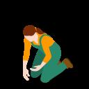 Farm Woman Icon