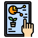 Report Chat Hand Icon