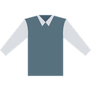 Collar Long Sleeve Collar Shirt Icon