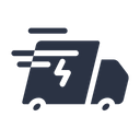 Fast Quick Delivery Icon