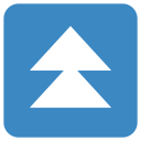 Fast Up Arrow Icon