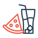 Fastfood Food Pizza Icon