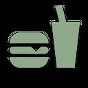 Vector Burger Food Icon