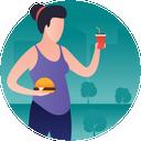 Fat Food Icon