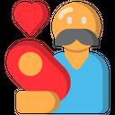 Parent Care Dad Icon