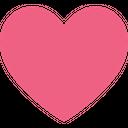 Favorite Heart Heart Shape Icon