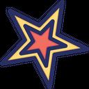 Favorite Star Christmas Icon