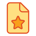 Favorite Page Document File Icon