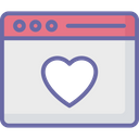 Favorite Web Browser Dating Icon