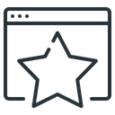 Website Favorite Site Star Icon