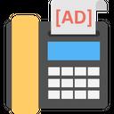 Fax ad Icon