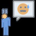 Fear Scared Sad Icon