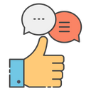 Feedback Chat Customer Reviews Comments Icon