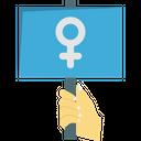 Female Banner Icon