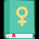Female Book Icon