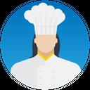 Female Chef Icon