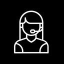 Female Consultant Icon