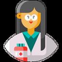Researcher Pharmacist Avatar Icon