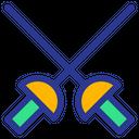 Fencing Weapon Sword Icon