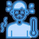 Sick Fever Thermometure Icon