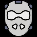 Artboard Field Hockey Mask Mask Icon
