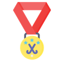 Field Hockey Medal Icon
