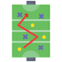 Field Hockey Strategy Icon