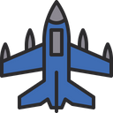 Fighter jet Icon