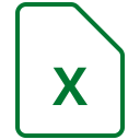 File Document Excel Icon