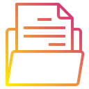 Document Files Foder Icon