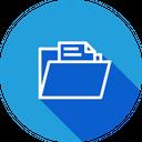 File Folder Data Icon
