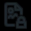 Image Locked File Document Icon