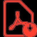 File Pdf Download Icon