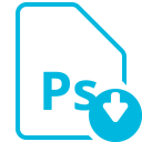 File Ps Download Icon
